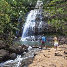 Waterfall on Maui, Hawaii