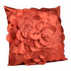 Orange Petal Pillow at Kirkland's 9.99