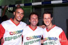 Hope for Children' charity football match  Ronaldo, Zico and Michael Schumacher