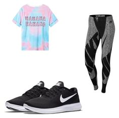 """Untitled #103"" by lilarana on Polyvore featuring NIKE"