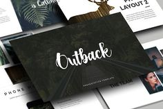 Outback - Presentation Template by Medialoot on @creativemarket