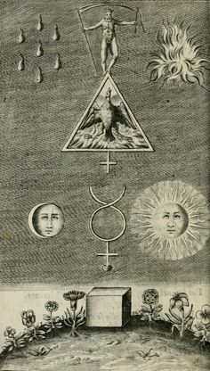 You may want to check the other Alchemy collections we have. 25 rare antique books of ALCHEMY. but many books have higher resolution of images. Alchemy Art, Alchemy Symbols, Alchemy Tattoo, Old Symbols, Old Books, Antique Books, Rare Antique, Esoteric Art, Arte Obscura