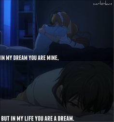 this is so deep Anime = Golden Time