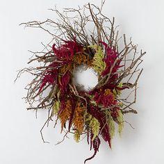 Blueberry Branch Wreath