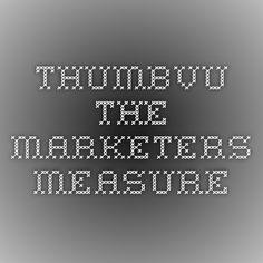 Thumbvu - The Marketers Measure
