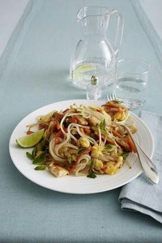 "Phad Thai ""Low Carb"" mit Shirataki-Nudeln"