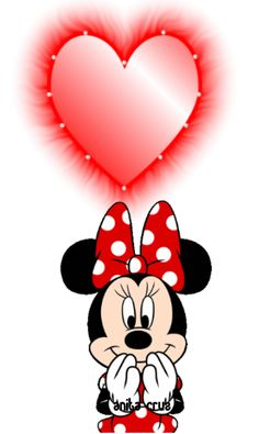 Mickey Mouse Pictures, Mickey Mouse Cartoon, Mickey Mouse And Friends, Mickey Minnie Mouse, Animated Heart, Animated Love Images, Cartoon Caracters, Cute Couple Gifts, Doodle Frames