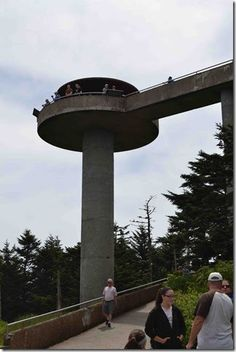 Clingman's Dome, The Great Smoky Mountains National Park