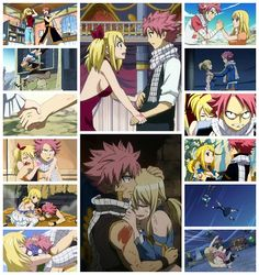 NaLu, Natsu X Lucy, Fairy Tail ~ I've not seen it yet but they look cute : 3