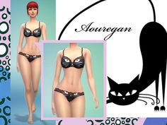 Created for: The Sims 4 This is a Set with 2 Creations - Click here to show all This is a cat underwear set, recolor from the original game mesh if you use it in any creation, please link it back, be good, if you recolor it, message me, I would like to see it ! :) http://www.thesimsresource.com/downloads/details/category/sims4-sets-clothing-female/title/cat-underwear-set/id/1294272/