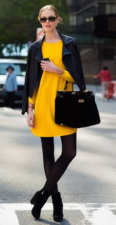 Women's Fashion Design Trends Color Blocking With Black Fall Winter 2011 2012