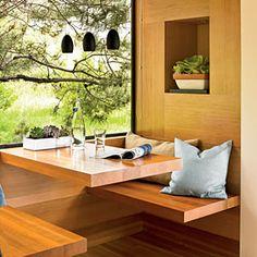 25 Beautiful, Space-Saving Built-Ins   Natural Nook   CoastalLiving.com