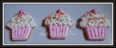 Cupcake Cookies For more cookies visit www.facebook.com/sweetmomentsintime