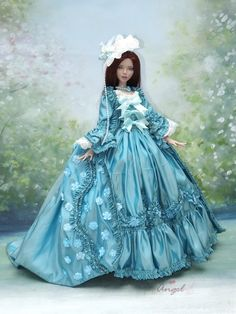 "Court Couture for Deja Vu 16""Tonner doll .Now available on my ebay store."