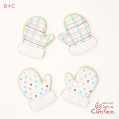 We're totally smitten with these mitten cookies!