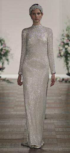 #JennyPackham #Wedding Dress - Cyclamen