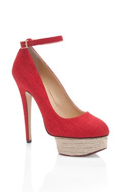 Shop Dolores Pump by Charlotte Olympia Now Available on Moda Operandi