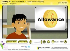 "Dollar General ""A Day at Dollar General"" FREE learn while shopping program to teach kids and parents about basic budgeting"