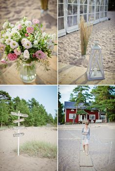 Sofia & Chip - A summer beach wedding | Real Finnish wedding on Best Day Ever