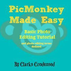 PicMonkey Made Easy: Basic Photo Editing #ClarksCondensed