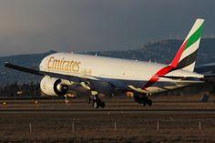 Emirates Boeing 777 freighter  @ZAZ Airport