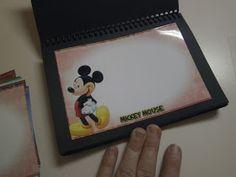 RobbyGurl's Creations: DIY Disney Autograph Books