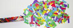 Renkli Pelur Kağıtlı Pelur Konfeti