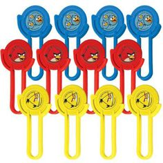 Angry Birds Disc Shooters | 12 ct