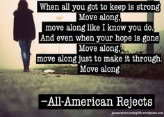 17) Move Along by All-American Rejects