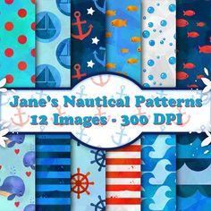Nautical Patterns @creativework247