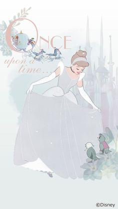 Cinderella Wallpaper, Disney Phone Wallpaper, Cartoon Wallpaper, Arte Disney, Disney Art, Disney Movies, Disney Images, Disney Pictures, Disney Aesthetic