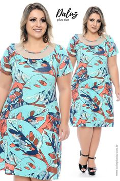 Plus Size Dresses for Curvy Larger Women Vestidos Plus Size, Plus Size Maxi Dresses, Plus Size Outfits, Casual Dresses, Curvy Girl Fashion, Plus Size Fashion, Womens Fashion, African Fashion Dresses, African Print Fashion