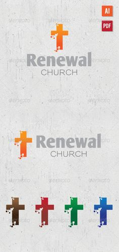 Renewal Church Logo - GraphicRiver Item for Sale