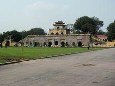 Palacio de la Ciudadela de Hanoi. Vietnam