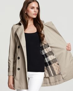 Burberry trench $895
