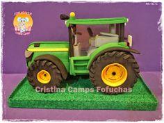 Tractor goma eva