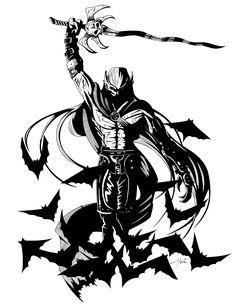 Kain with Soul Reaver Aloft by CrimsonGear