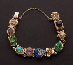 Vintage slide Bracelet