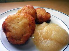 Baby Potato Pancakes from Jay and Lloyds Kosher Deli