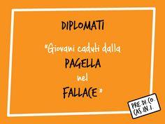 """Ragazzi, ovviamente scherzo! Studiare è importante e SERVE molto... per esempio a sapere cosa vuol dire """"fallace"""" ;-P  FB: www.facebook.com/predicocasini YOUTUBE: www.youtube.com/allegraguardi TWITTER: @AlleGuardi #predicocasini"""