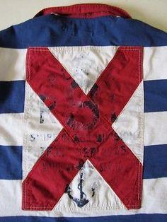 Men's Ralph Lauren Polo Long Sleeve Rugby Shirt RLYC Yacht Club Yachting XL
