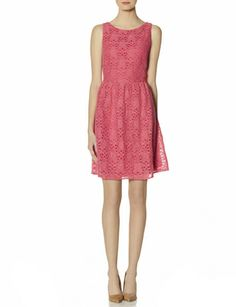 Lace Fit & Flare Dress perfect for Easter Brunch. You can dress it up with a belt or a statement necklace!
