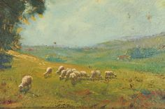 english landscape paintings | 19th Century Old English Landscape Oil Painting image 4