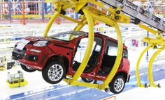Fiat Panda Assembly, Pomigliano Fiat Factory, 2011