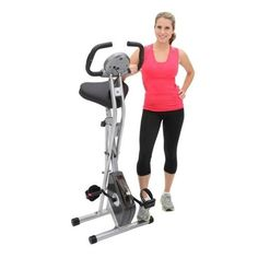 Folding Workout Bike Health Fitness Home Exercise Indoor Machine Sports #FoldingWorkoutBike