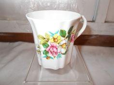 Royal Grafton Bone China England Floral Coffee Cup Mug #RoyalGrafton
