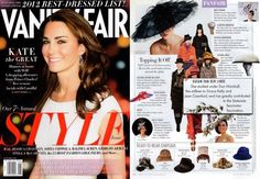 fe9e3b2ac28 Susan van der Linde s elegant hats have gotten a shout out by Vanity Fair  coining them a trendsetter. Get them and a ball cap from Harding Lane on  Taigan.