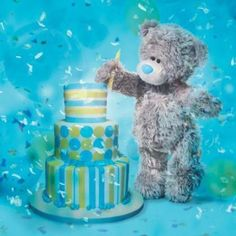 Image result for tatty teddy 25th birthday hologram card