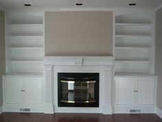 built in fireplace wall units | built-ins, wall units, fireplaces
