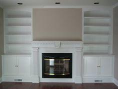Classic Living Room Wall Unit   By Senomozi @ LumberJocks.com .